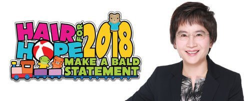 Dr Watt's Hair for Hope 2018